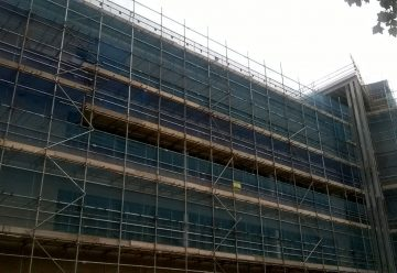 Birketts SEH French Scaffolding Project