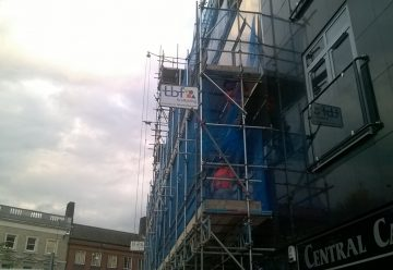 Commercial Scaffolding in Ipswich