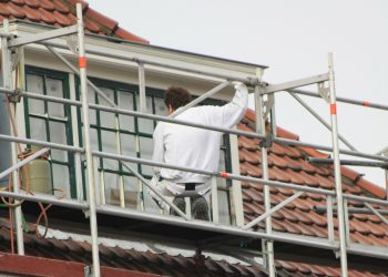 Scaffolding for painters and decorators