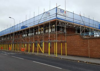 Scaffolding Project on Royal Mail Building