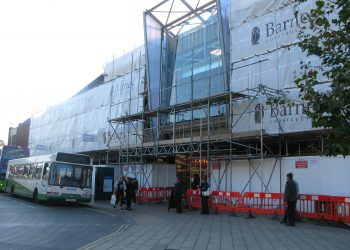 Scaffolding Project for Barnes Construction