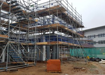 Scaffolding Project for Stanway School