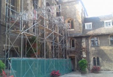 tbf_scafolding_barnes_construction_Corpus_christie_college_cambridge