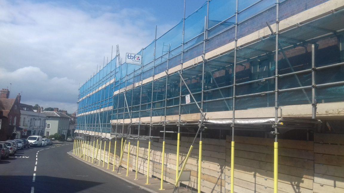 tbf_scaffolding_mistley_Quay_Clarks_Demolition