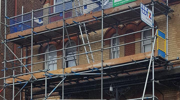 domestic scaffolding luton