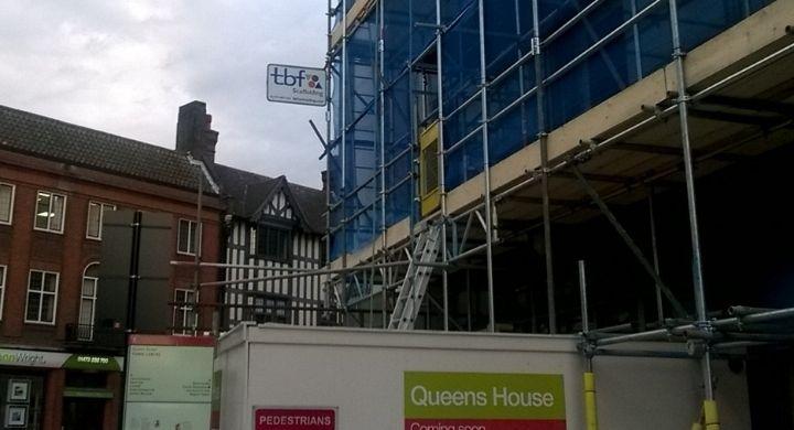 Commercial Scaffolding Norwich