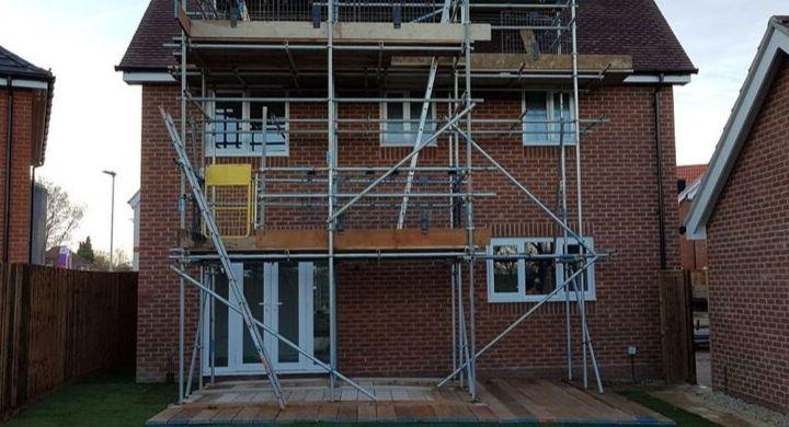 Domestic Scaffolding Cambridgeshire