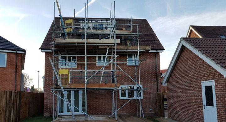 Domestic Scaffolding Felixstowe