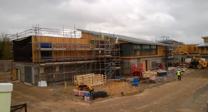 Commercial scaffolding Hertfordshire